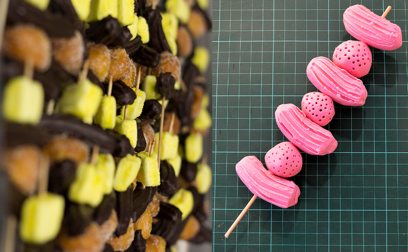 Comaxurros Adifad Demo festival food design bakery tendences research new methodologies design sweet food other shapes
